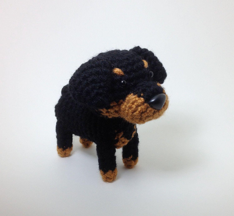 Ravelry: Rottweiler puppy pattern by Rosaura Valdez | 1383x1500