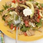 Lentil Taco Salad. Just made this. it. is. DELICIOUS!
