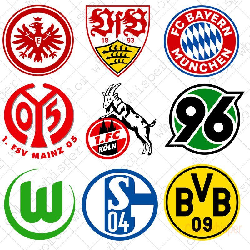 Gunstige Diamant Malerei 5d Diy Voller Platz Fussball Bundesliga Team Logo Kreuz Stich Daimond Stickerei Malerei Wand Team Logo Fussball Bundesliga Bundesliga