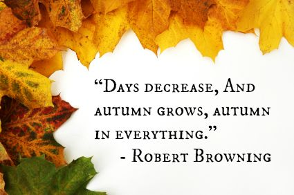 Autumn · 14 Fabulous Fall Quotes: ...