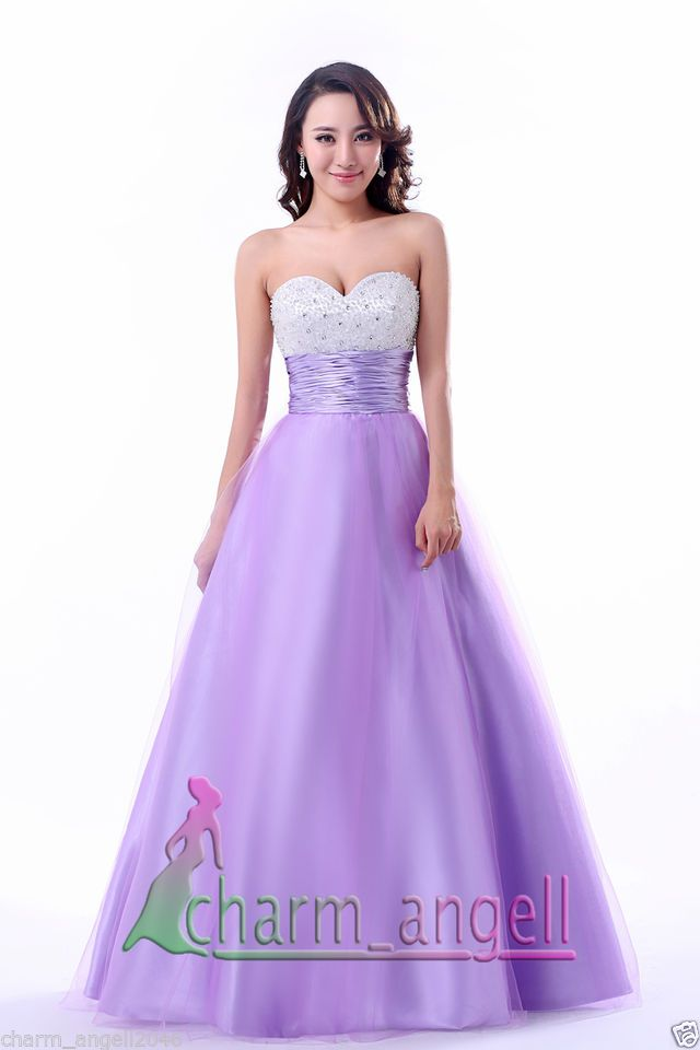 Angel Sweet Sixteen A-Line Long Prom Formal Evening Party Dresses B ...