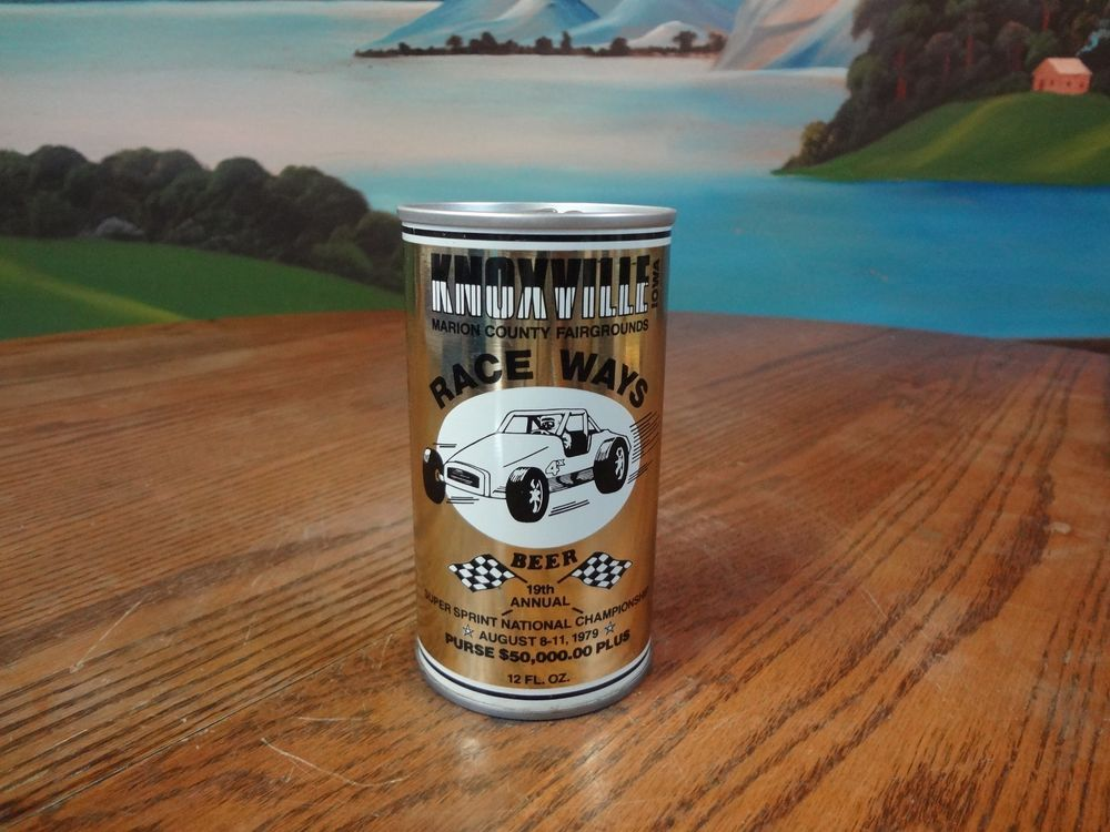 KNOXVILLE RACE WAYS BEER. IOWA 12 OZ. S/S  BEER CAN. COLD SPRING, MINNESOTA | Collectibles, Breweriana, Beer, Cans: US | eBay!