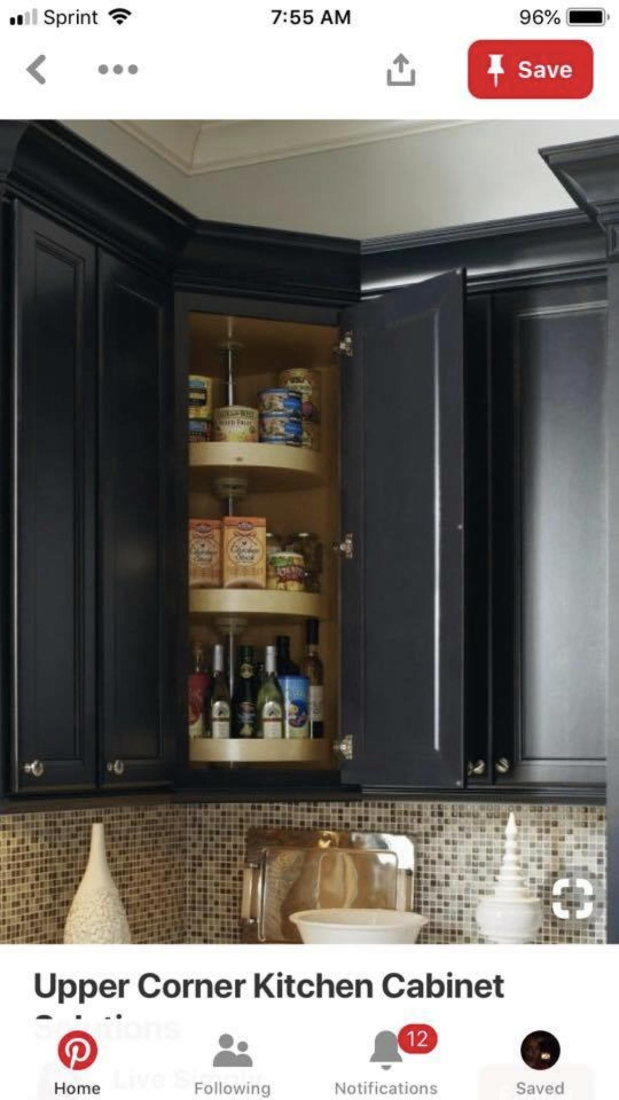 Pin By Jackie Jacoby On Kitchen Corner Kitchen Cabinet Upper Kitchen Cabinets New Kitchen Cabinets