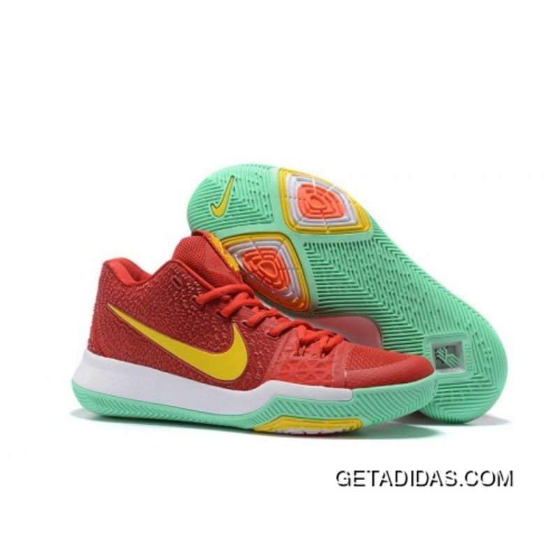 2017 Nike Kyrie 3 Red Yellow Green Basketball Shoes Best, Price: $98.29 -  Adidas Shoes,Adidas Nmd,Superstar,Originals
