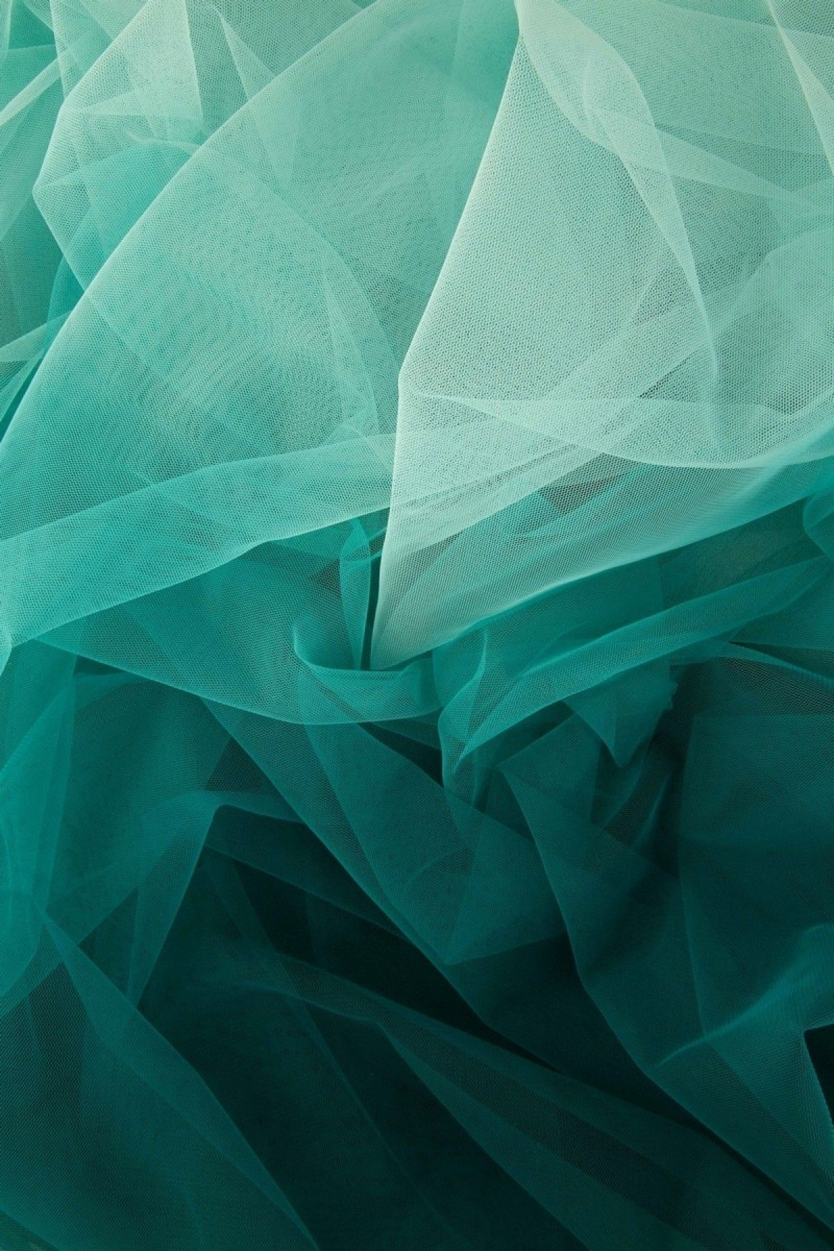 Weave medley light green fabric 6 yards contemporary drapery fabric - Sea Green Sky Blue Shaded Exclusive Pure Net Fabric With Price Online Samyakk