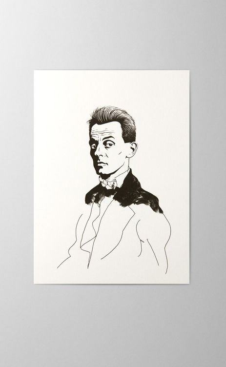 Egon schiele offset and screen printed greeting card artist portrait egon schiele offset and screen printed greeting card artist portrait m4hsunfo