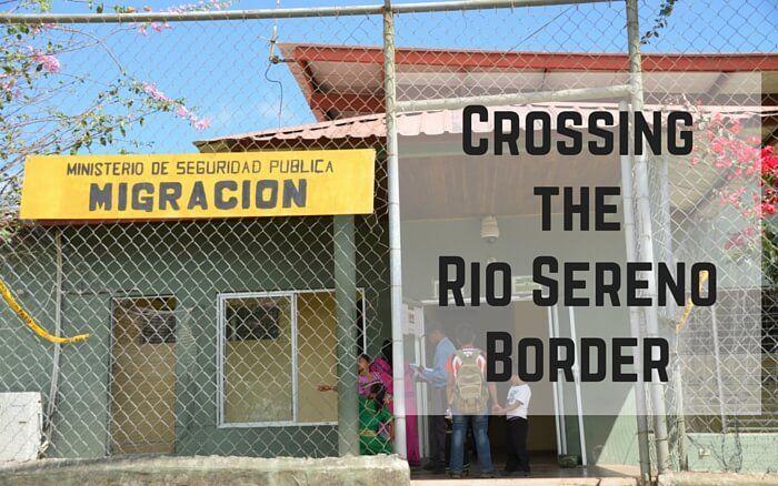 Crossing the Rio Sereno Border