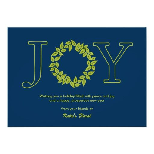Joyful wreath business holiday cristmas cards announcement business holiday cards colourmoves