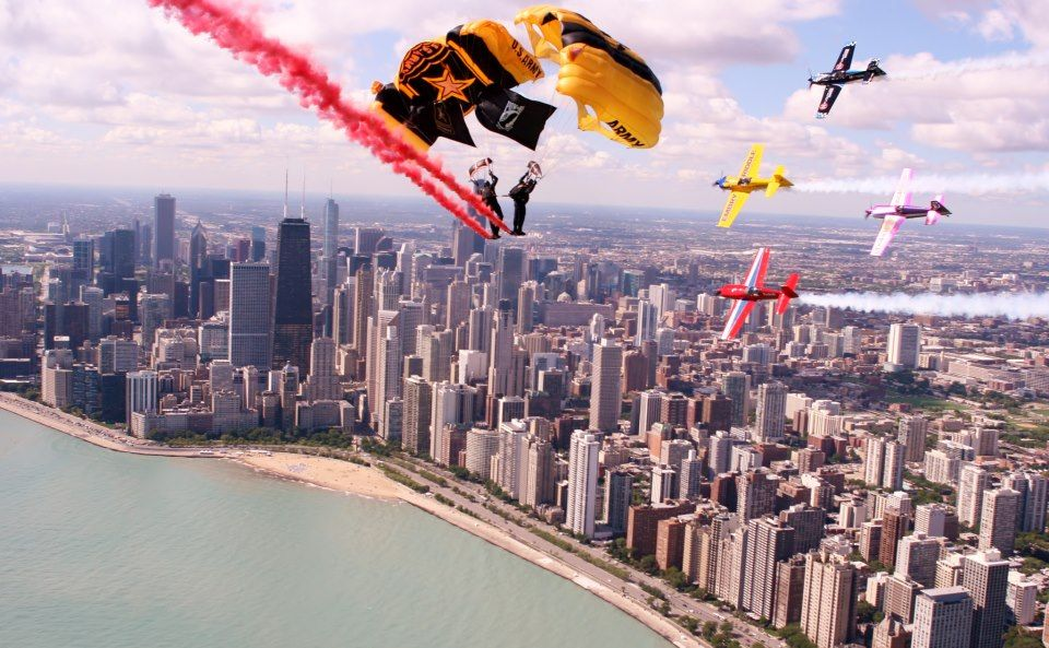 air and water show chicago