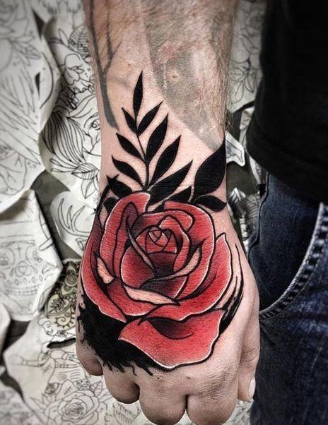 Tatuajes De Rosas 367para Hombre Y Mujer Tattoos