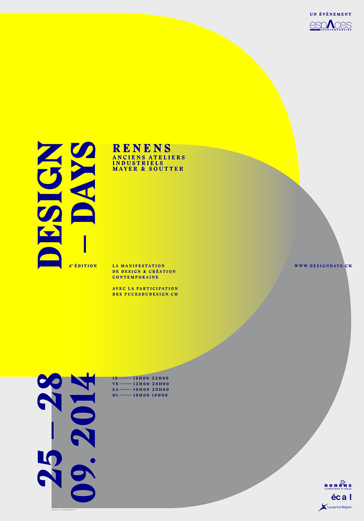 Poster design for projects - 11 Contemporary Projects Influenced By Swiss Style Design