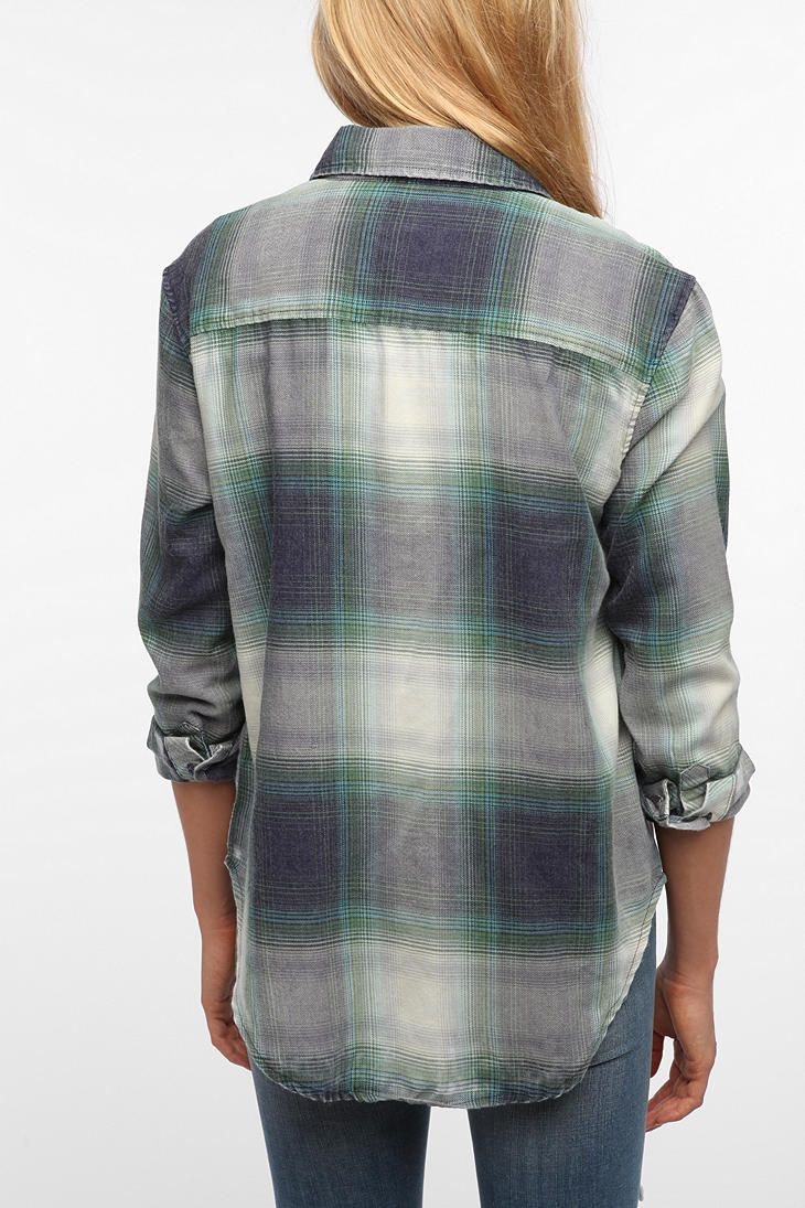 byCORPUS Burnout Flannel Shirt  Styles Fashion I LoVe  Pinterest
