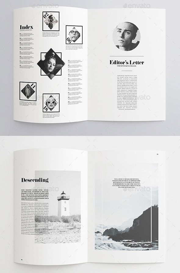 Marvelous 40 Pages Minimal Magazine