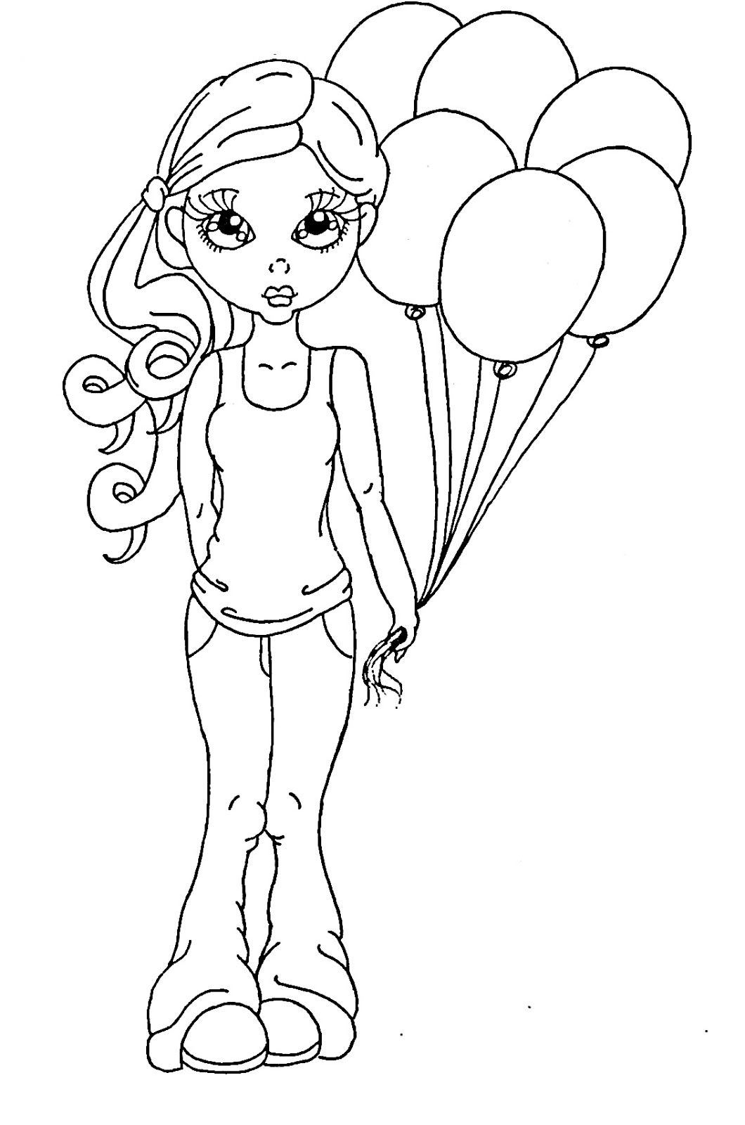 Cuddlebug Cuties: A Winner And A Freebie | Images To Color ...