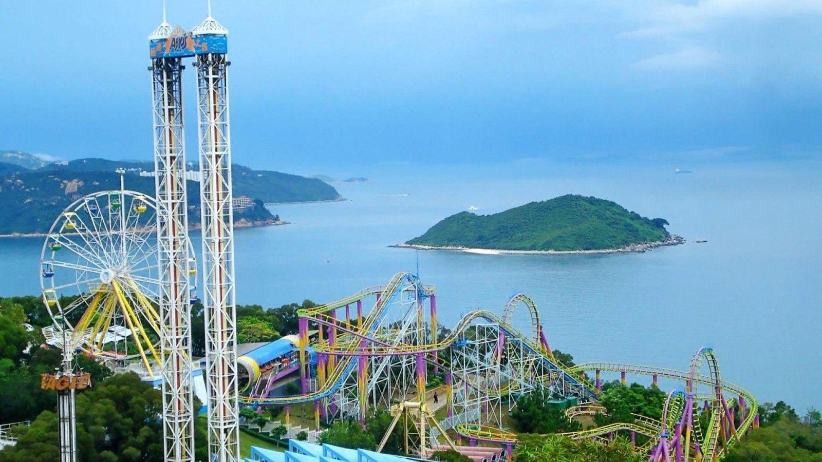 اطلالة ديزني لاند الراعئة المرسال Ocean Park Hong Kong Hong Kong Disneyland Ocean Park
