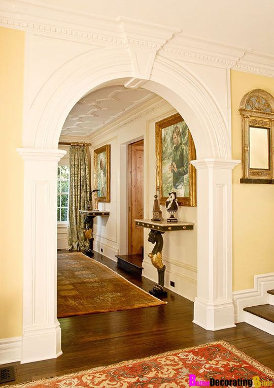 Designer Secret Why Arched Entryways Make The Perfect Addition Door Design Interior House Design Living Room Door