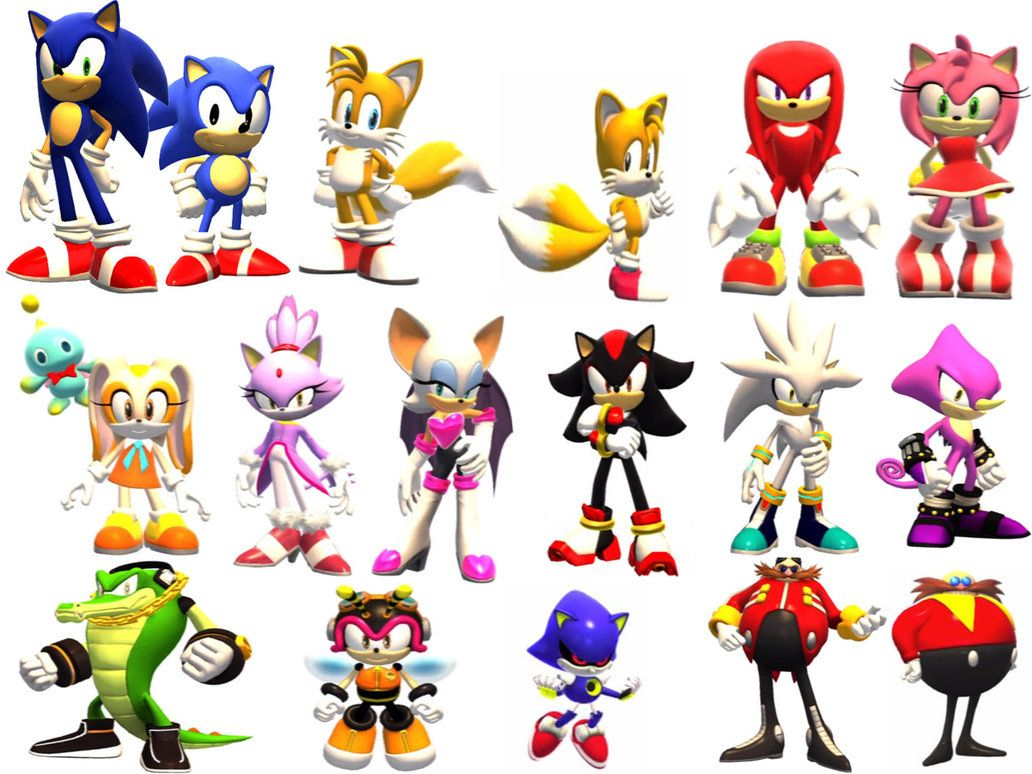 Sonic Generations Characters Sonic Generations Sonic Sonic The