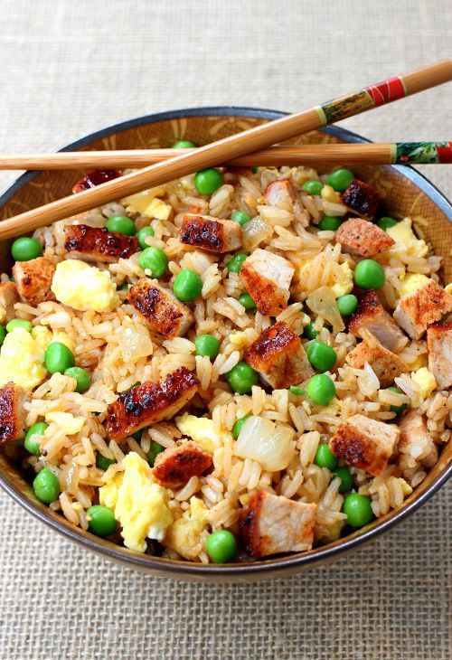 Bbq pork fried rice top asian invasion pinterest bbq pork bbq pork fried rice 14 finest rice recipes for everyday home cooking ccuart Choice Image