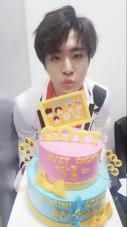 Can I Get That Cake For My Birthday Oppa Youngjae