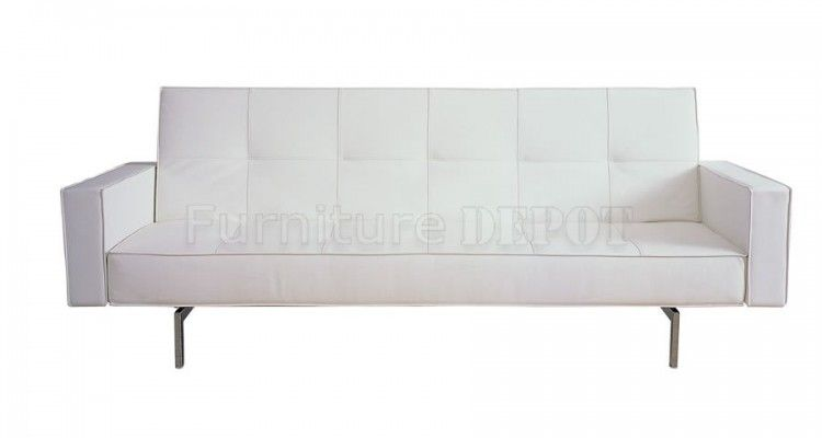 Charmant Top 14 Modern White Leather Sofa Bed Sleeper Ideas