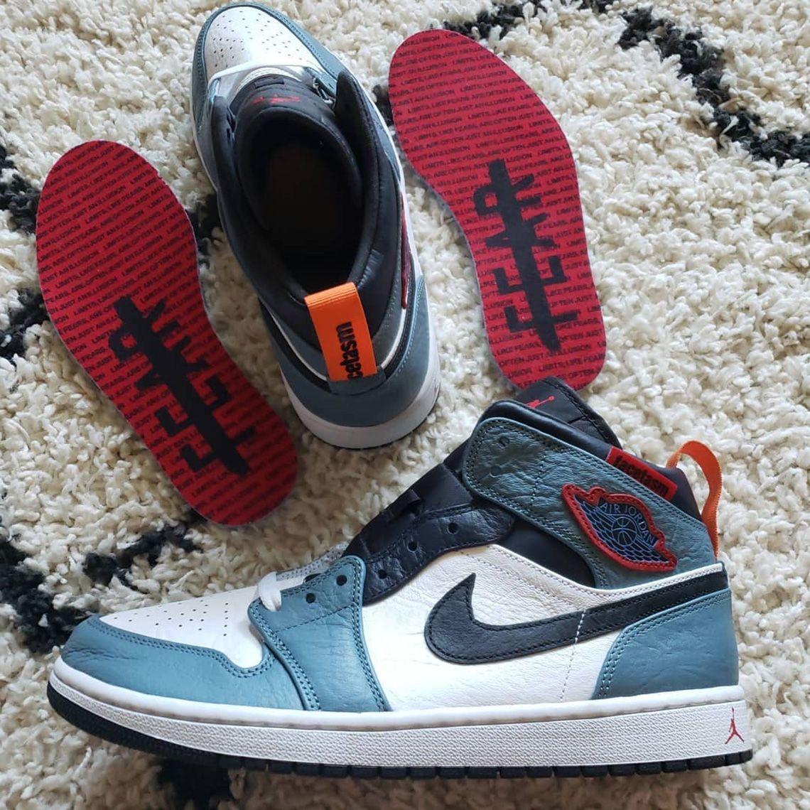 Facetasm Air Jordan 1 Collaboration Release Info Sneakernews Com Air Jordans Jordans Sneakers Men Fashion
