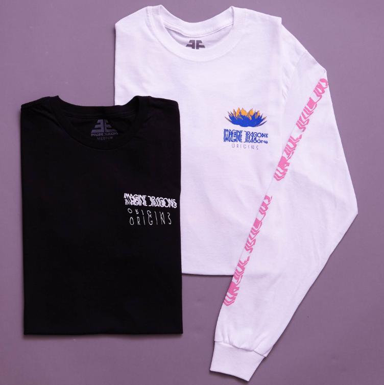 c938eea8412 Imagine Dragons Distorted Origins T-Shirt in 2019