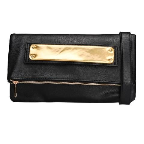 Women Personality PU Leather Shoulder Clutches Bag