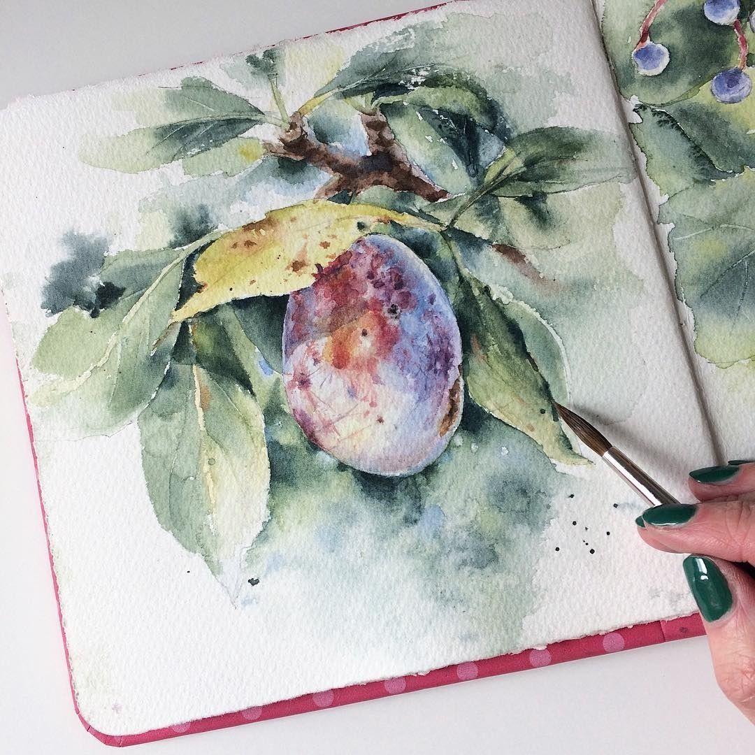 Udozhnik Mamabelle Art Akvarel Aquarelle Painting