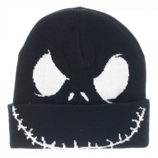 1ca3ca66e1a FaeryNiceThings   Adult size Nightmare Before Christmas Jack Skellington  Face Cuff Beanie 80796