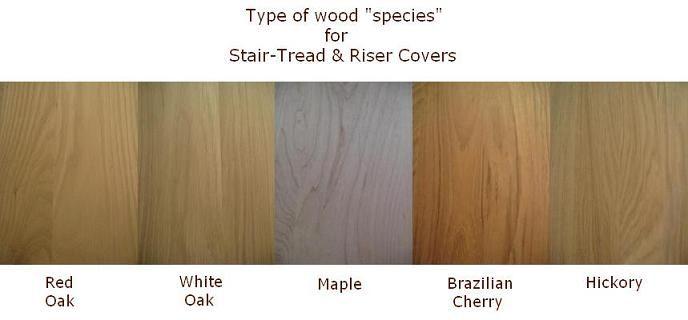 Best Replacement Stair Tread Wood Species Hardwood Stair 400 x 300