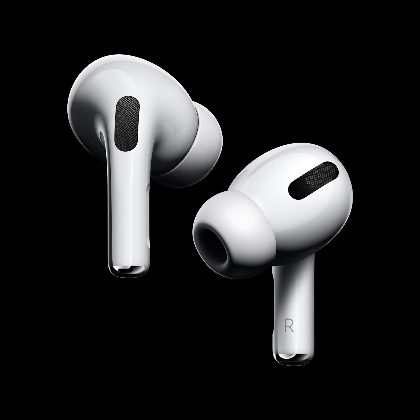 Apple Debuts Higher End Airpods With Noise Cancellation And Water Resistance Airpods Pro Noise Cancelling Earbuds