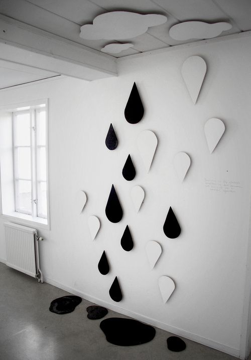 Black And White 3D Wall Art
