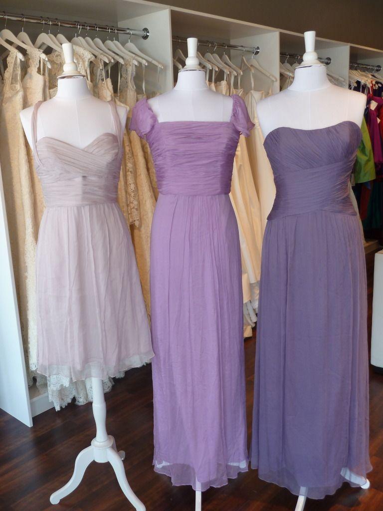 Amsale Bridesmaids Color Combos - Opal, Orchid, Violet   Wedding ...