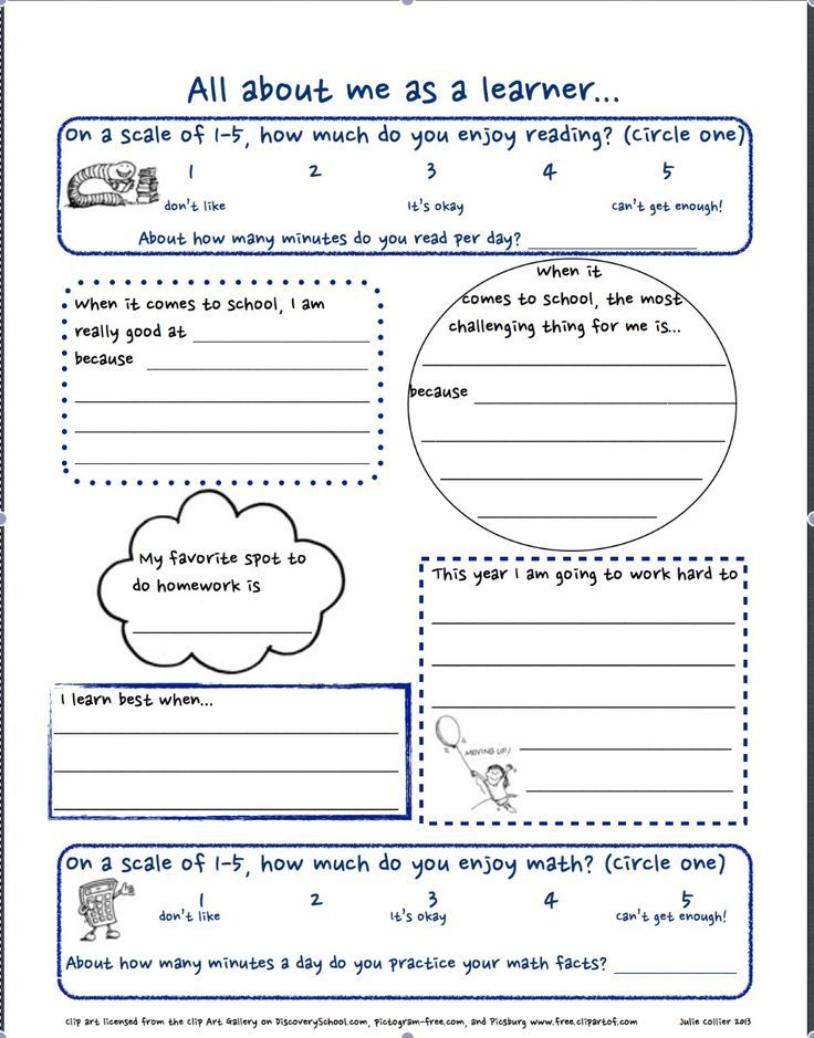 First Day Of School Worksheets High School: Getting to ...
