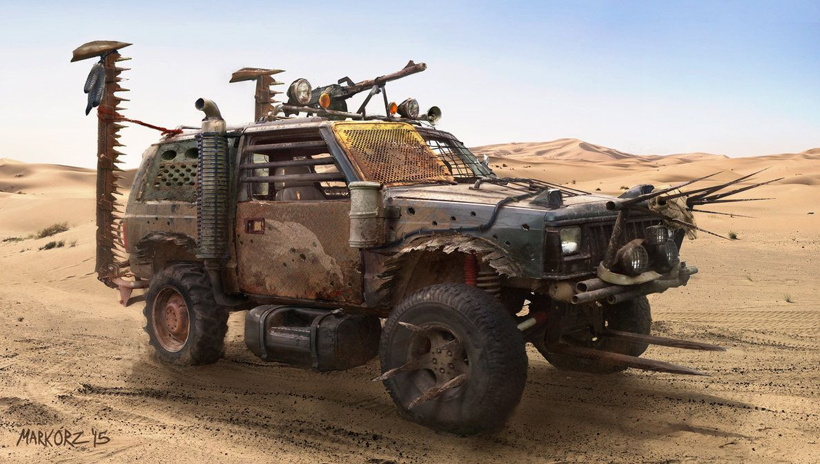 Mad Max Jeep By Milkduster On Deviantart Post