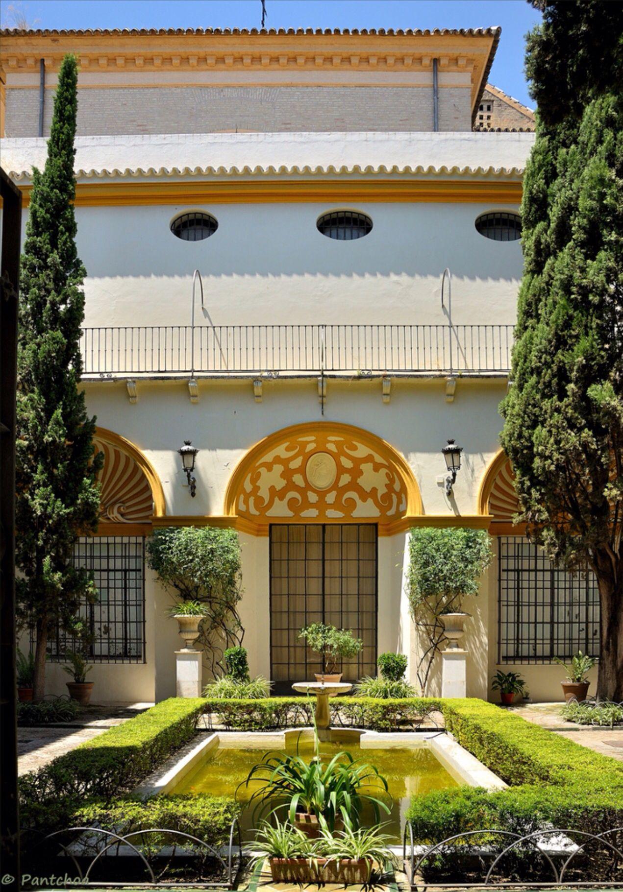 Sevilla Museo De Bellas Artes Patio Https Www Flickr Com Photos Francois 2 6197535458 In Photostream Hotel Place Andalusia Baroque Painting