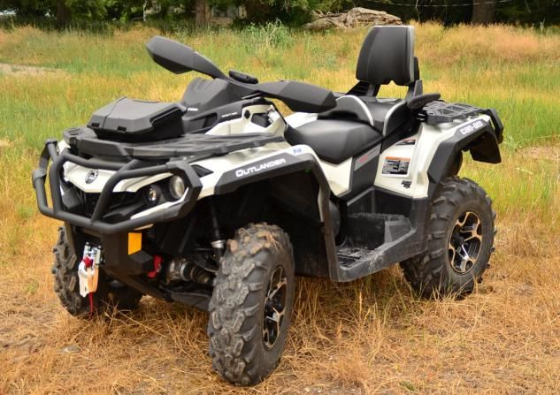 2013 Can Am Outlander Max 1000 Ltd Long Term Review Atv Com Can Am Atv Quads Outlander