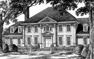 Plan 32503WP: Tradition At Its Best | Colonial house plans ...
