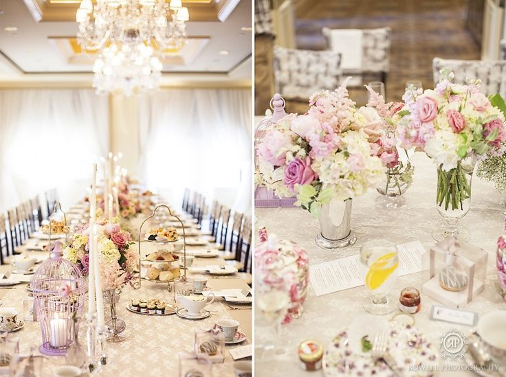 Have A High Tea Wedding Reception Instead Of Traditional Dinner