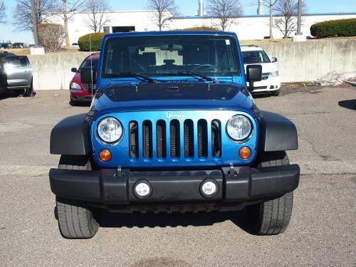 2010 Deep Water Blue Pearlcoat Jeep Wrangler Sport Http Www