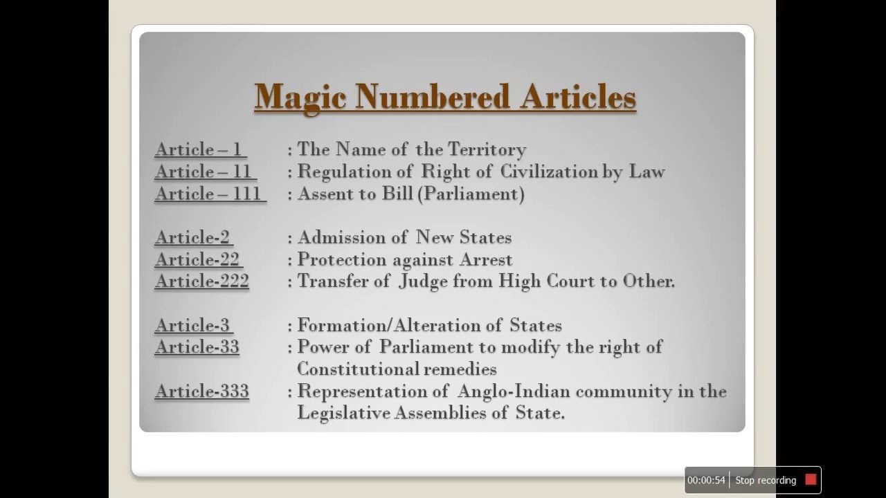 Important Articles Indian Constitution Civil Services Mentor Indian Constitution How To Memorize Things Constitution