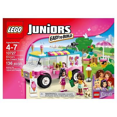 Lego Juniors Emmas Ice Cream Truck 10727 Products Lego Juniors