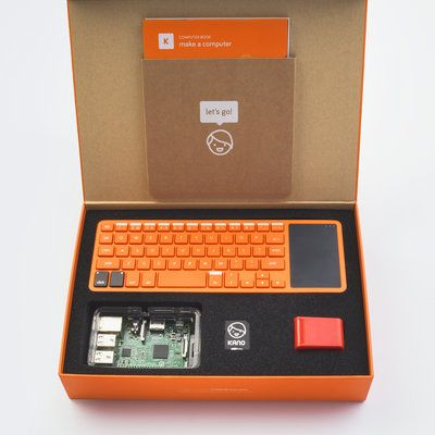 Get the kids hooked on computer science with the Kano Computer Kit, which makes building a computer and starting to code easy and fun.