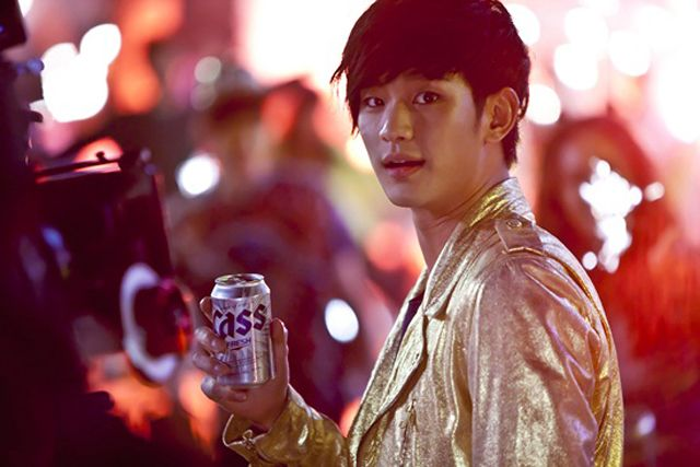 Kim Soo Hyun Goes From King To A Beer Guzzling Homme Fatal