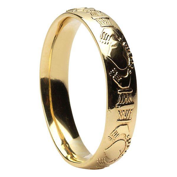 Mexican Wedding Rings Celtic Wedding Rings Claddagh Ring Wedding Wedding Rings Unique