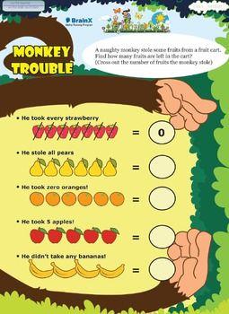 Plus And Minus Worksheets For Kindergarten