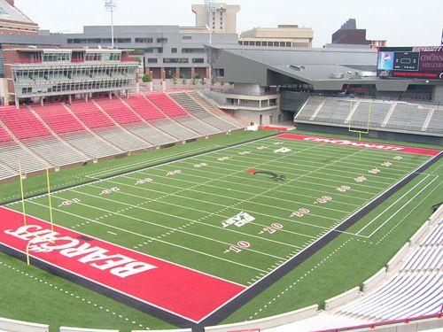 Ohhh Ohhhh Ohhhh U C Cincinnati Bearcats Stadium University Of