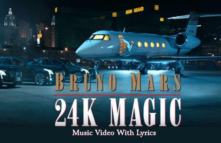 24K Magic Sheet Music Bruno Mars | ♪