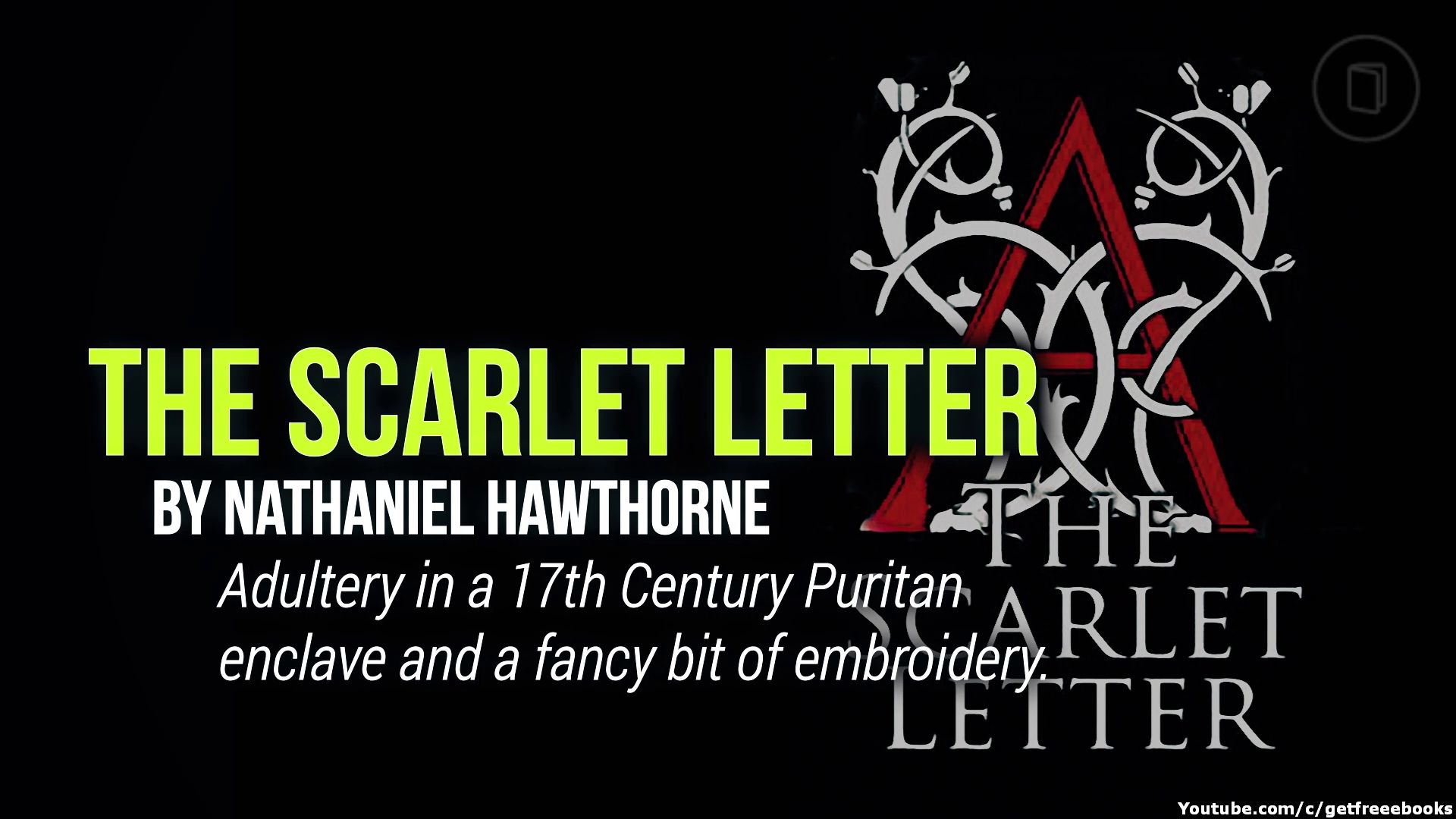 The Scarlet Letter by Nathaniel Hawthorne Book summaries