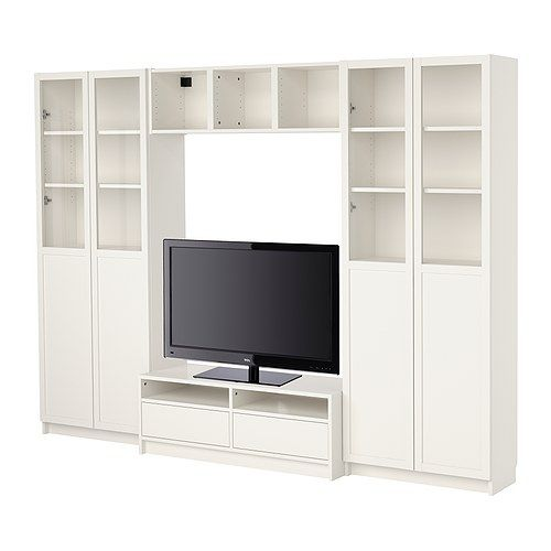 Billy Bookcase Combination With Tv Bench White Ikea Design Pinterest Tv Bench Billy